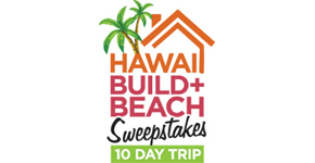 Hawaii Build N Beach Contest Logo